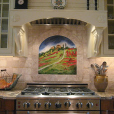 Traditional Kitchen by Distinctive Tile & Stone Design