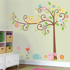 Contemporary Kids Wall Decor by Murals For Kids