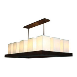 """Stonegate Designs - Candela Rectangle Chandelier 