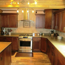 Craftsman Kitchen Cabinets by Kitchen Designs by Jeffrey F. Krider