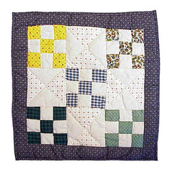 Patch Quilts - Country Vine Toss Pillow 16 x 16 Inch - Decorative applique Quilted Pillow Bed and Home Ensembles and Bedding items from Patch Magic   - Machine washable  - Line or Flat dry only Patch Quilts - TPCOVN