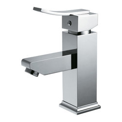 EVIVA - Eviva Bevera Chrome Faucet, Single Hole, Lifetime Limited Warranty - Eviva Bevera Faucet is a Unique Square looking faucet, with a high quality brass construction. Moreover the chrome finish provides the Bevera Faucet with a very shiny & classy look that manifests the beauty of any countertop. All installment utilities are included with the product package, Lifetime Limited Warranty that assures the right quality for the price the consumers are paying. Brass Construction ensuring heavy duty use. The package includes two regular size hoses for hot and cold water, the faucet is 100% pressure tested.