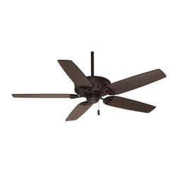 Casablanca - Casablanca Concentra Ceiling Fan in Brushed Cocoa - Casablanca Concentra Model CA-54020 in Brushed Cocoa with Reversible Distressed Walnut/Dark Walnut Finished Blades.