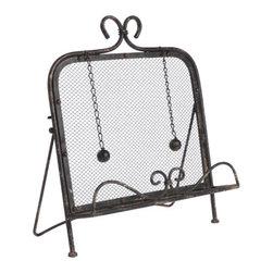 Napa Home & Garden - Cookbook Holder - Antique Black. Napa Home & Garden is a wholesale manufacturer of distinctive home & garden decorative accessories.