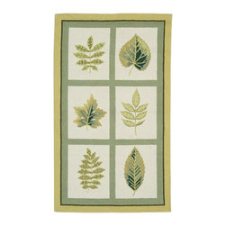 """Safavieh - Chelsea Rug, Ivory, 8'-9"""" x 11'-9"""" - 100% pure virgin wool pile, hand-hooked to a durable cotton backing. American Country and turn-of-the-century European designs. This collection is handmade in China exclusively for Safavieh."""