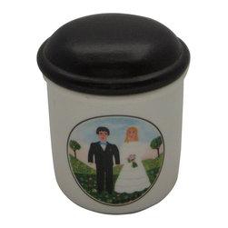 """Villeroy & Boch - Villeroy & Boch Design Naif Jar-Storage & Lid 3"""" - Villeroy & Boch Design Naif Jar-Storage & Lid 3"""""""