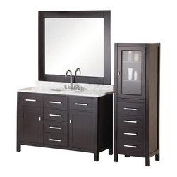 Shop 48 Inch Single Sink Vanity Bathroom Vanities on Houzz