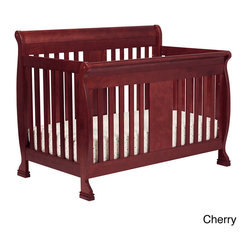 DaVinci - DaVinci 'Porter' 4-in-1 Toddler Rail Convertible Crib - Sturdy and reliable,the Porter 4-in-1 Convertible Crib will keep your baby safe in slumber for years. Porter's softly curved back panel and matching front panel play beautifully with the lines of the strong slats.