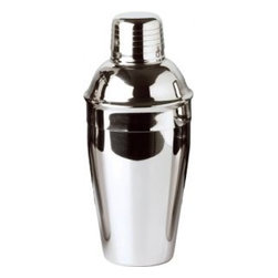 Franmara - 18 Ounce Stainless Steel Cocktail Shaker Set with Smooth Chrome Design - This gorgeous 18 Ounce Stainless Steel Cocktail Shaker Set with Smooth Chrome Design has the finest details and highest quality you will find anywhere! 18 Ounce Stainless Steel Cocktail Shaker Set with Smooth Chrome Design is truly remarkable.