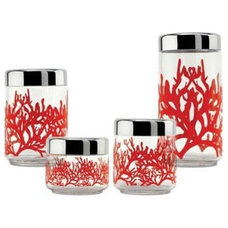 Tropical Bathroom Canisters by Switch Modern