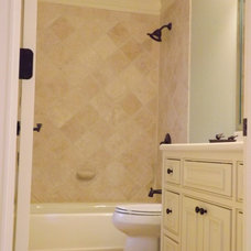 Traditional Bathroom by CRES Builders Corp.