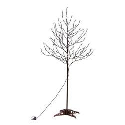 Lightshare - Lightshare LED Blossom Tree, 20 LED C7 Light, Warm White, 6ft 208 Lights - Description: