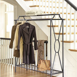 Ballard Designs - Niles Double Coat Rack - If I had a small mudroom, one not quite big enough for built-in shelving/coat racks, I'd love to have a Niles coat rack in that space. It's so handy for storing coats and other clothing you need as you're headed out the door each day.