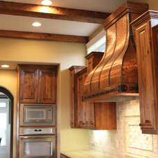 Traditional Range Hoods And Vents by Art of Rain