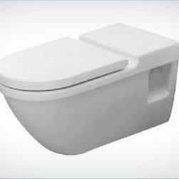 Duravit - Duravit - Toilet Wall-Mounted 27 1/2 In Starck 3 - 2203090000 - Washdown Model