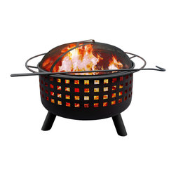 Landmann - City Lights Series Memphis Open Weave Fire bowl - Inspired by great cities of the United States' deep south, these firebowls are backyard no-brainers for stylistic contribution and sheer functionality. Choose from the finish of your choice and enjoy a sturdy and handsome fire pit.