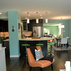 Contemporary Kitchen by Designs by SKill, LLC.