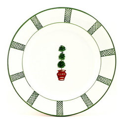Artistica - Hand Made in Italy - Giardino: Large Serving Charger/Platter - Giada Collection: