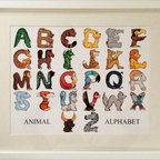 Baby Baazaar Inc. - Animal Alphabet Wall Art - Introduce your little one to the wild world of words with help from some adorable artwork. Cheerful, colorful and packed with furry friends, this beautifully matted and framed piece promises to brighten up your nursery (in more ways than one).