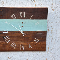 Contemporary Clocks by Terrafirma79 Designs