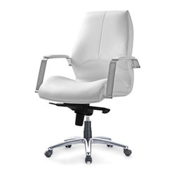 Pastel - Office Chair in Ivory - The Andrew office chair is beautifully crafted chair that works in any and every office space.