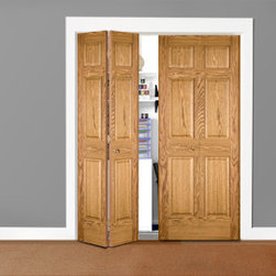 Oak Doors Bifold Closet Doors Oak