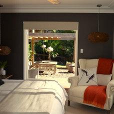 Eclectic Bedroom by AH Interiors