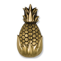 Hospitality Pineapple Brass Door Knocker