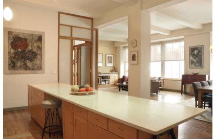 Eclectic Kitchen by Abelow Sherman Architects LLC