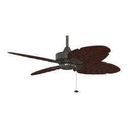 Fanimation - FP7410OB Windpointe 4 Blade Ceiling Fan, Oil-Rubbed Bronze - Tropical Ceiling Fan in Oil-Rubbed Bronze from the Windpointe Collection by Fanimation.