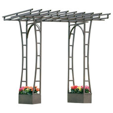 Contemporary Outdoor Decor by H Potter