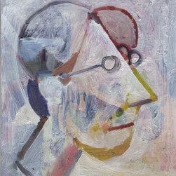 """Self Portrait"" Artwork - Self portrait.   dimensions are approx."