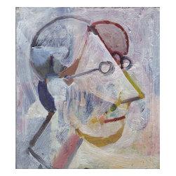 Self Portrait, Original, Painting - Self portrait.   dimensions are approx.