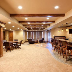 Kansas City Traditional Bathroom Basement Design Ideas, Pictures
