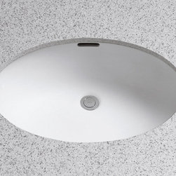 """Toto - Toto LT548G#01 Cotton Augusta Decorative Augusta Decorative 21-5/8"""" - Product Features:Rectangular basin gives a classically clean look to your bathroom countertopCovered under Toto s limited 1-year warrantyConstructed of vitreous china providing a classic look and feelWall mount installation type - mounts directly to the wall which eliminates the need for a large countertop or vanityRear drain location increases area in the sink as well as storage underneathEquipped with overflow drain – works in tandem with the primary drain to prevent an overflow or spillageAll hardware needed for installation includedExtra-secure mounting assemblyToto bathroom sinks provide unmatched performance, durability and reliabilityProduct Specifications:Overall Width: 18-1/4"""" (measured from the back outer rim to the front outer rim)Overall Length: 21"""" (measured from the left outer rim to the right outer rim)Basin Width: 10-1/8"""" (measured from the back inner rim to the front inner rim)Basin Length: 14-3/4"""" (measured from the left inner rim to the right inner rim)Basin Depth: 3-1/8"""" (measured from the center of basin to the rim)Installation Type: Wall MountNumber of Faucet Holes: 3Drain Outlet Connection: 1-1/4""""About Toto:For over 90 years Toto has been producing superbly designed, high-performance plumbing products for residential and commercial bathrooms. With a concentration on creating a more enjoyable bathroom experience, Toto infuses its products with sophisticated styling and substance. Each product is constructed and fine-tuned with computer precision and relentless attention to detail. Through ever evolving manufacturing practices and new technologies, Toto consistently leads the way in plumbing fixture efficiency and sustainability. It is this pursuit of excellence that pushes them beyond industry standards an"""