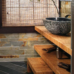 Asian Bathroom Countertops -