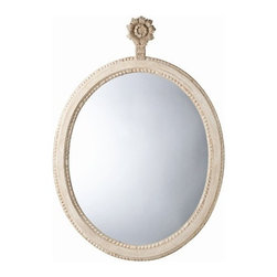 Arteriors Home - Parkgate Carved Solid Wood Oval Mirror - DR6001 - Parkgate Collection Mirror
