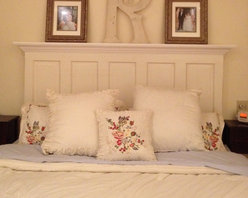 Headboards - Starting at $125 these handmade headboards are not available in stores. They feature either old