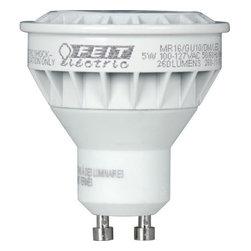 FEIT ELECTRIC CO #261200 - MR16/GU10/DM/LED Dimmable Bulb - MR16 LED Mini Reflector Bulb