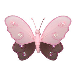 hanging hailey butterfly beautiful nylon hanging kids wall or ceiling ...