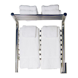 Amba Products - Amba MSP-20 M Shelf Straight Towel Warmer - Collection: Jeeves