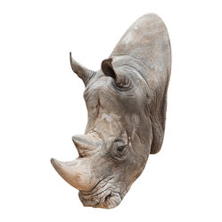 Rhino Mount Wall Decal