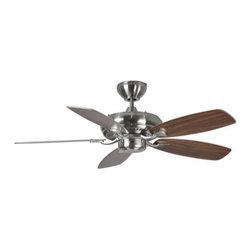 "Monte Carlo - Monte Carlo Designer Max II 5 Bladed 44"" Indoor Ceiling Fan - Blades Included - Features:"