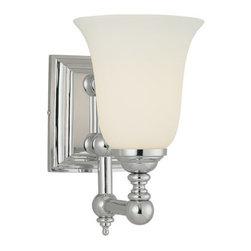 """Minka Lavery - Minka Lavery 3221 1 Light 10"""" Height Bathroom Sconce - Single Light 10"""" Height Bathroom SconceFeatures:"""