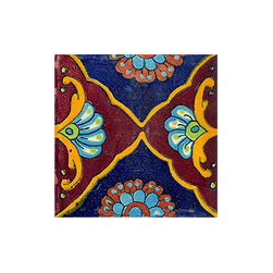 Handpainted Talavera Border Tile Collection - Item TB185