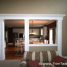 Traditional Family Room by Trim Team NJ