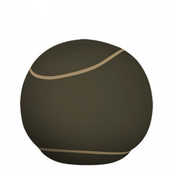 Doomoo - The Bool, Medium, Khaki Light Khaki - With its round tennis ball look, the new generation of pouf is sporty in appearance...yet is ideal for cosy relaxation. When you sit in a Bool, the first thing you notice is the smoothness of the fabric as well as the softness of the seating... The Bool forms around you: its micro-granules adopt your shape to give you a fitted, firm and warm support. It gives a fantastic feeling of relaxation! The Bool has a removable cover that comes in plenty of different colors, with a safely closed inner pouf!