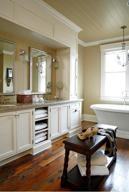 Traditional Bathroom Vanities And Sink Consoles by Lakehouse Cabinetry Inc.