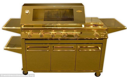 Eclectic Outdoor Grills BeefEater Gold Barbecue