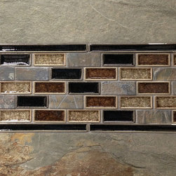 Tile Backsplash Ideas and Inspiration - An array of backsplash ideas for your kitchen or bath that will help inspire the design and decoration of any home. From traditional to contemporary design styles the options abound.